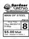 Man of Steel Ticket