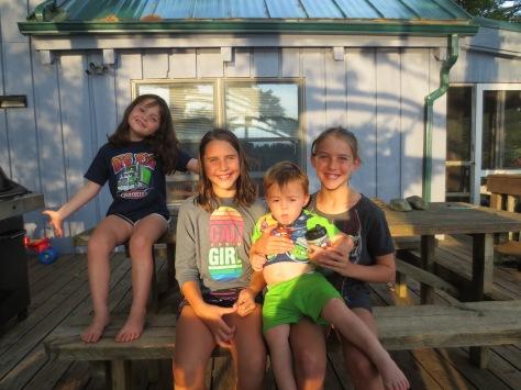 Savannah & Jackson with Jenna & Jordan